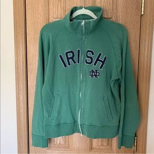 Women's 47 Notre Dame Zip Up Mock Neck Forty Seven